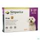 Simparica (Сімпаріка) засіб від бліх і кліщів для собак 2.5 -5 кг