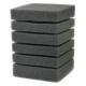 Фільтруюча губка прямокутна крупнопориста (10 см/10 см/14 см)