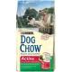 Корм сухий для собак, які ведуть активний спосіб життя Dog Chow Adult Active, на вагу 100гр