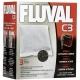 Наповнювач для фільтра Fluval C3 активоване вугілля,210г