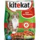 Корм сухий для котів Kitekat азу з яловичини, на вагу (100гр)