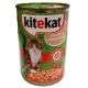 Корм консервований для котів Kitekat домашній обід з качкою 0.4 кг