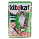 Корм консервований для котів Kitekat з кроликом в соусі 0.1кг