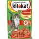 Корм консервований для котів Kitekat з яловичиною в желе 0.1кг