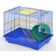 Клітка для гризунів «ХОМ'ЯК-2 ЛЮКС» (цинк) - 33х23х29см