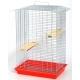 Клітка для гризунів «Шиншила-Люкс» (цинк) - 56,5х40х85см