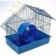 Клітка для гризунів «Хатинка» (фарбована) - 28х18х29 см