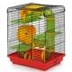 Клітка для гризунів «ХОМ'ЯК-3 ЛЮКС» (фарбована) - 33,5х23х43см