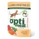 """Корм консервований для котів  з ягням та овочами """"Optimeal"""" 0,85гр"""