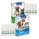 Капли для кошек и собак инсектоакарицидные ИнсектоСтоп Pro Vet (упаковка 6 пипетки - цена за 1)
