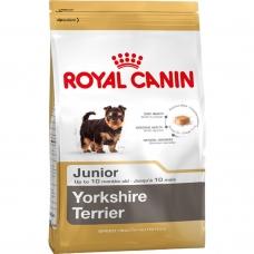 Корм сухий для цуценят породи йоркширський тер'є Royal Canin Yorkshire Terrier Junior 1.5кг