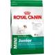Корм сухий для цуценят малих порід з 2 до 10 місяців  Royal Canin Mini Junior на вагу (100гр)