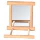 Дзеркало з дерев'яною рамкою та жердинкою Trixie