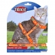 Шлея и поводком  с рисунком для кошки Trixie