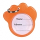 Адресовка-лапка флюоресцентна для собак Trixie