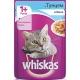 Корм консервований для котів Whiskas тунець в желе 100г